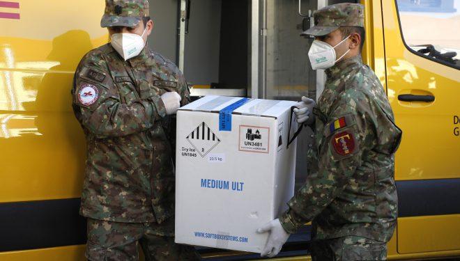 A șasea tranșă de vaccin Pfizer ajunge luni în România. Cum vor fi împărțite cele peste 90.000 de doze