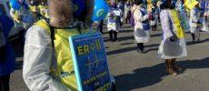 """Sindicaliștii de la """"Solidaritatea Sanitară"""" anunță două zile de proteste la Parlament"""