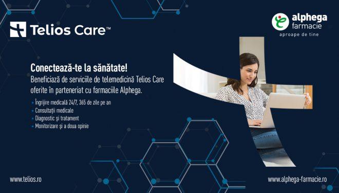 (P) Farmaciile Alphega și Telios Care cresc accesul la serviciile de sănătate prin integrarea telemedicinei în ofertă